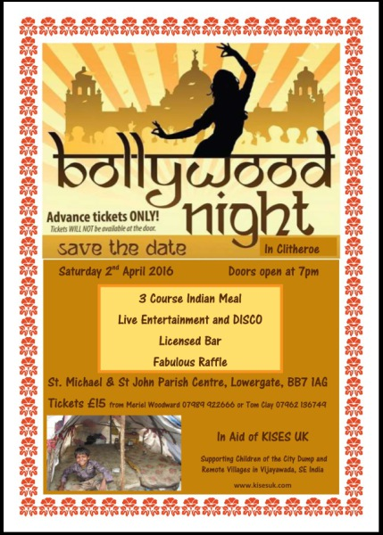 Bollywood Night - 2nd April 2016